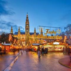 Croisière marchés de Noël dans les grandes capitales Danubiennes. 30 nov. au 7 déc. 2017