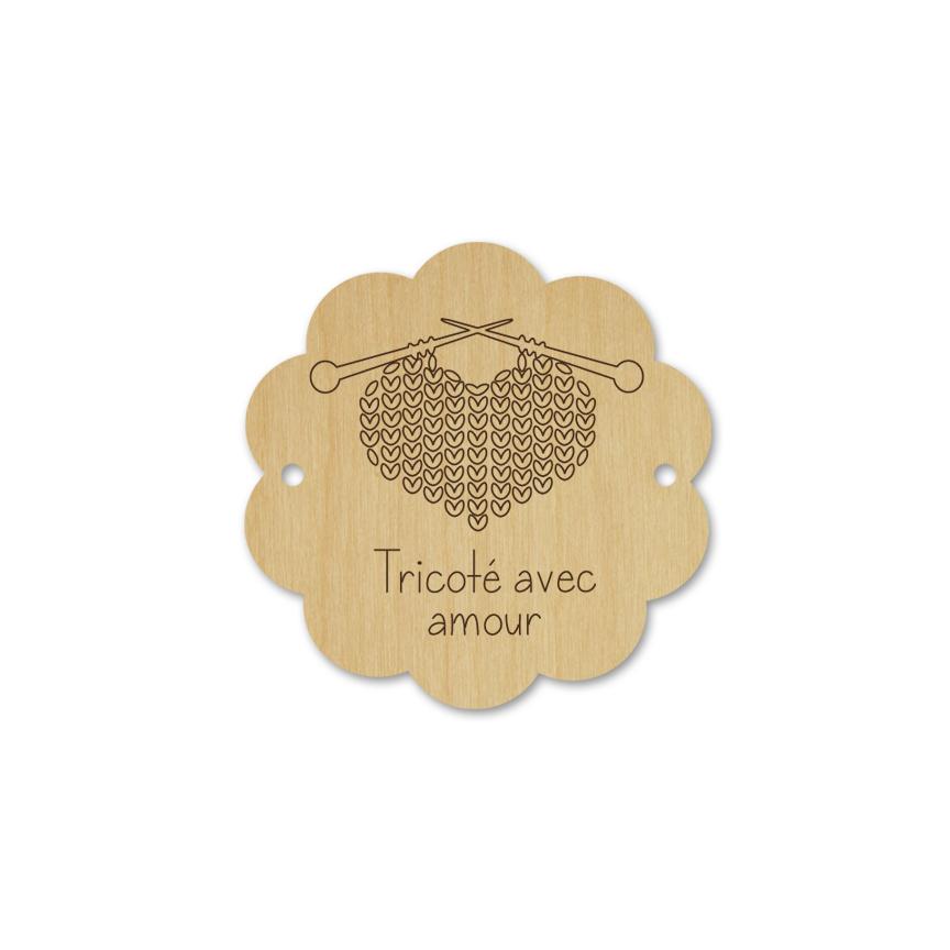 Bouton scallop - tricoté avec amour 026