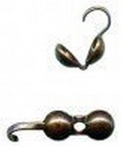 BEAD TIP ANTIQUE COPPER