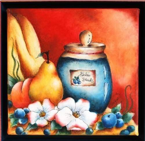 Ambiance d'un moment (fruits et fleurs)