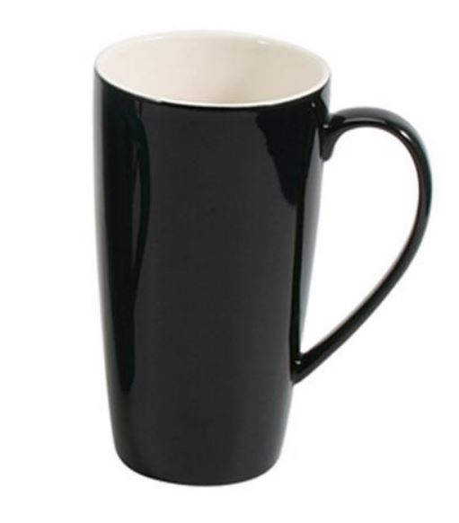 Tasse à café ou thé  noire