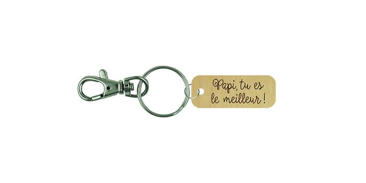 Porte-clé - Papi, tu es le meilleur!
