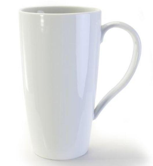 Tasse à café ou thé Blanche