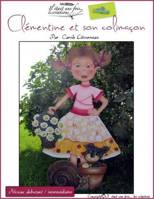 Clémentine et son colimaçon