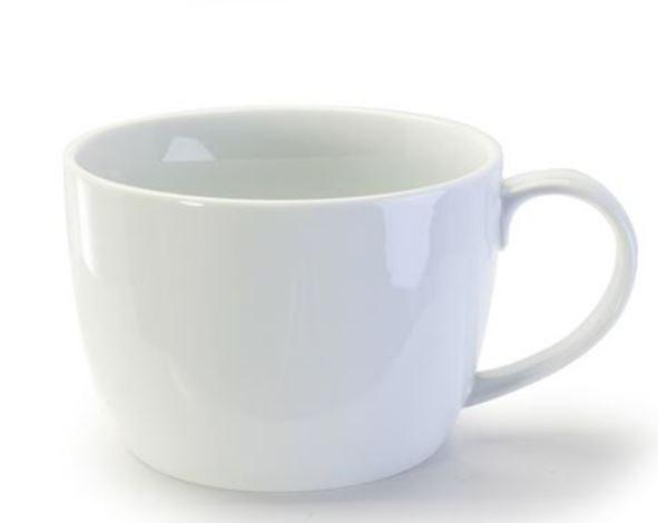 Tasse à café au lait blanche 530 ml