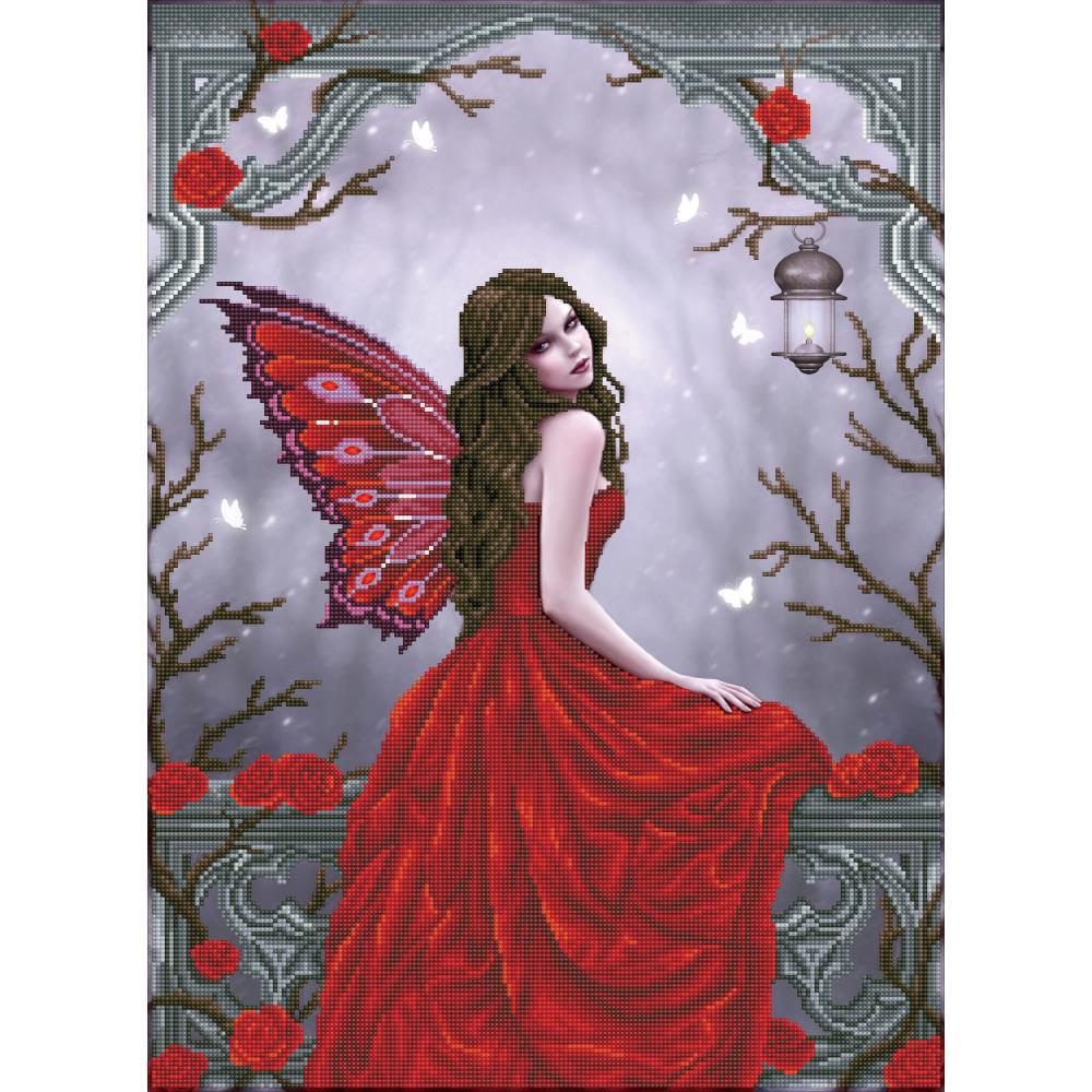 Winter rose fairy DD12050
