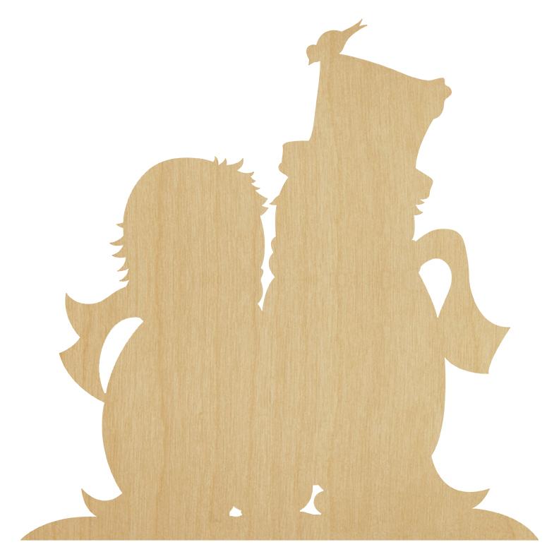 Famille Pingouins ( bois)