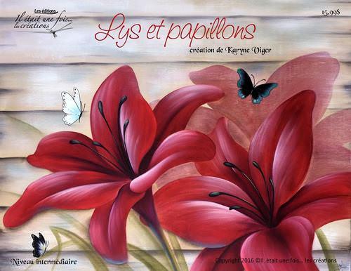 Lys et papillons