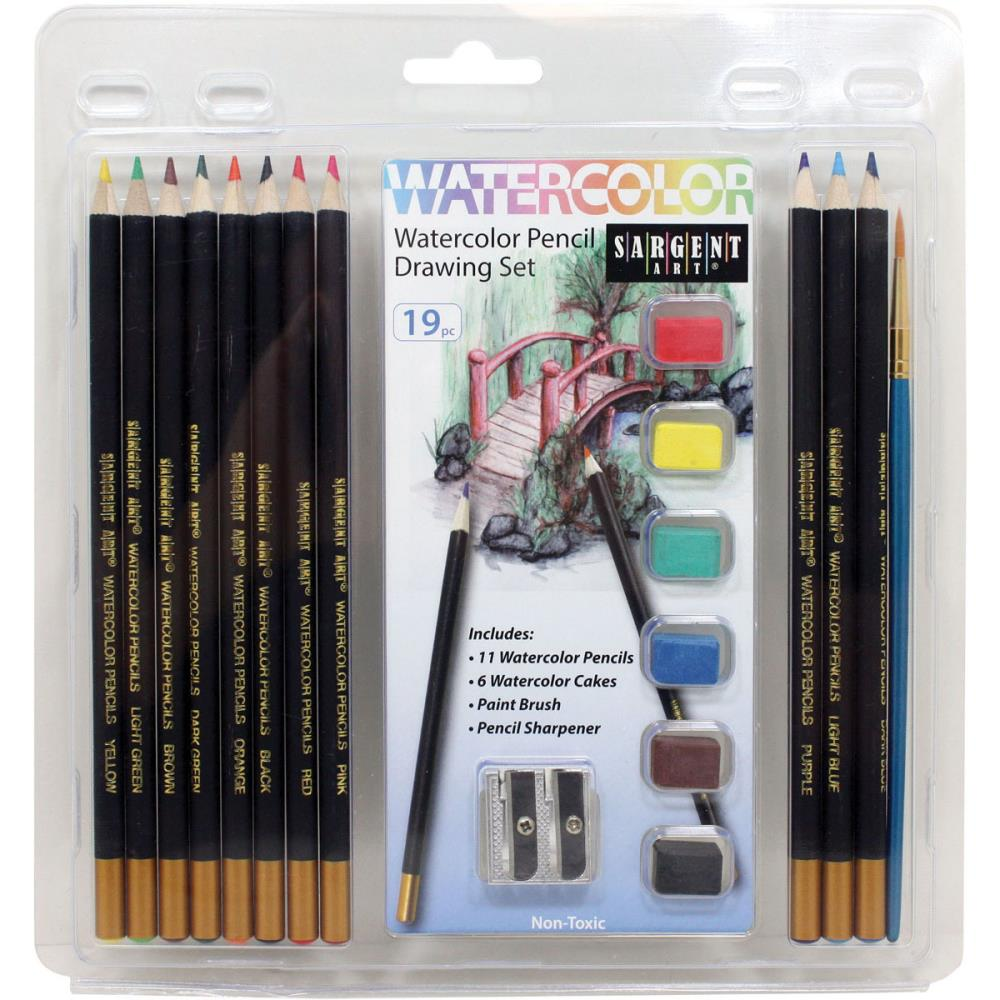 Kit de crayon aquarelle