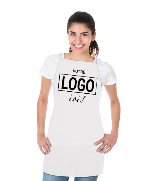 Tablier en polyester - Votre logo ici!