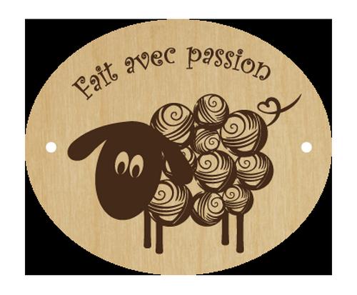 Bouton mouton - fait avec passion 023