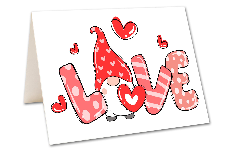 Carte de souhait - Love