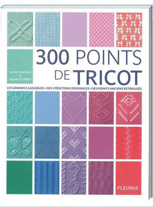 300 points de tricot, éditions Fleurus
