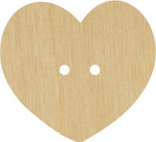 Bouton cœur 025