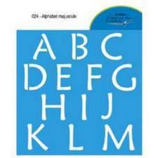 Alphabet majuscule 024