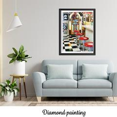 Diamond painting Rétro