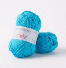 Phil coton no. 4 50g turquoise