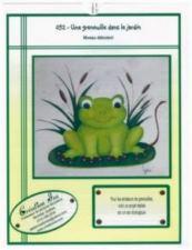 Une grenouille dans le jardin