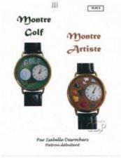 Montre golf, montre artiste