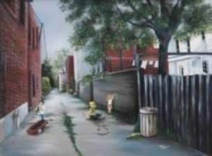La ruelle et mes jeux d'enfance