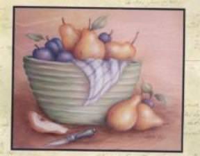 Poires et prunes