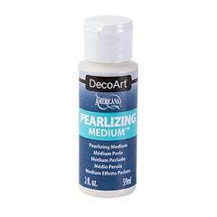 DecoArt pearlizing medium