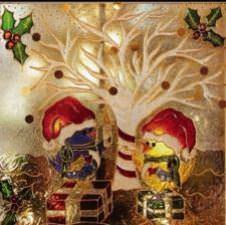 Une lumière pour le Pere Noel