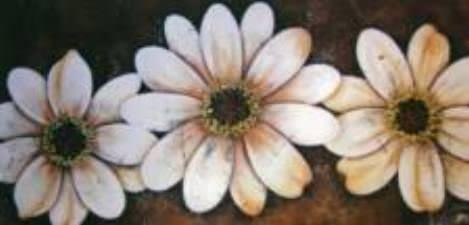 parchemin de fleurs