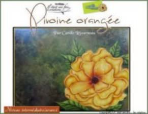 Pivoine orangé