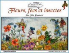 Fleurs , fées et insectes