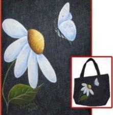 Marguerites et papillons