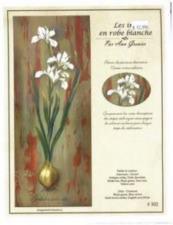 Les iris en robe blanche
