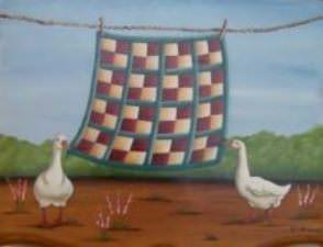 Les oies du lavage