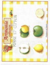 Pomme et citron
