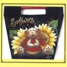 Sunflowers/Tournesols canvas/bag