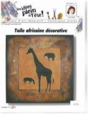 Toile africaine décorative
