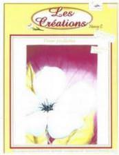 Fleur pailletée