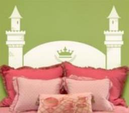 Tête de lit princesse