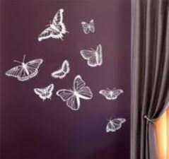 Envolée de papillon