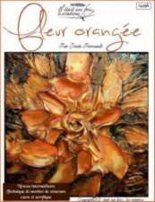 Fleur orangée