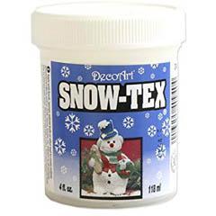 DecoArt Snow tex ornemental