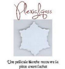 Etoile plexiglass 2.5''