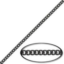 CC/160F/BSS Chain, stainless steel, black