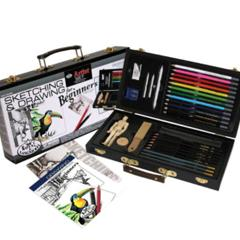 Ensemble cadeau avec boitier pour le dessin DS3000