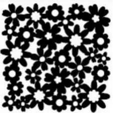 Motif floral vaporeux