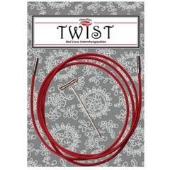 ChiaGoo  câble  mini Twist Rouge mini 5'' (13cm)