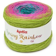 Spring Rainbow 62 - Turquoise -Fuchsia-Pistache