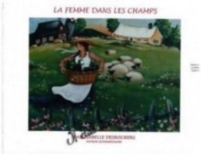 La femme dans les champs