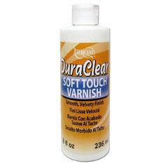 DecoArt Duraclear soft touch varnish