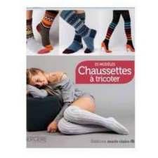 Chaussettes à tricoter, 25 modèles, éditions Marie Claire